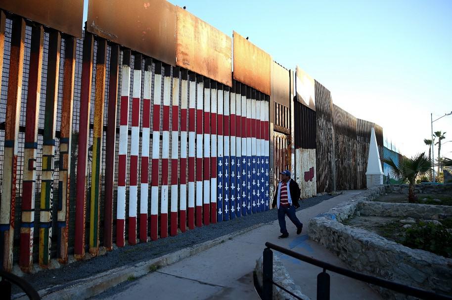 Muro en la frontera