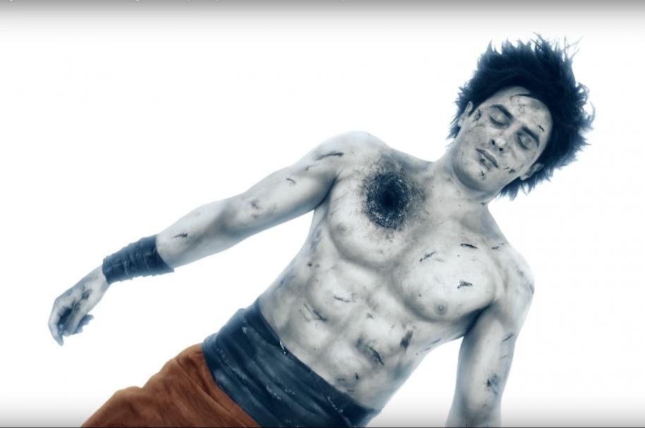 Gokú en corto independiente de Dragon Balll. Pulzo.com.