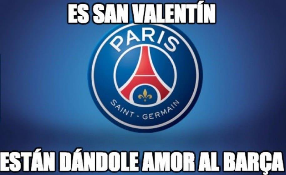 Memes PSG Barcelona