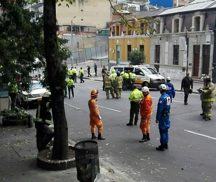 Explosión en La Macarena