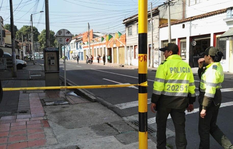 Posible artefacto explosivo en Bogotá
