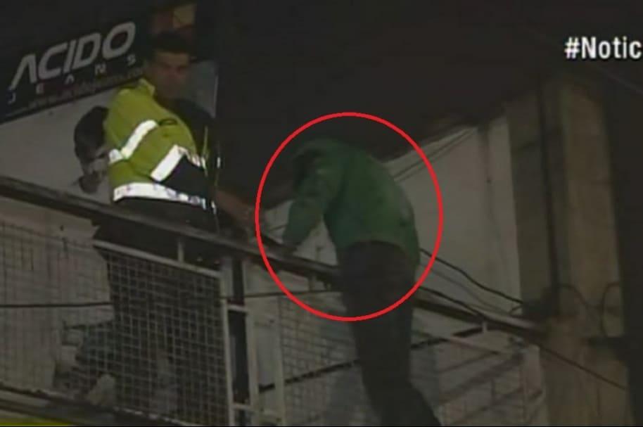 Alias 'Mantequilla' fue capturado en un tejado