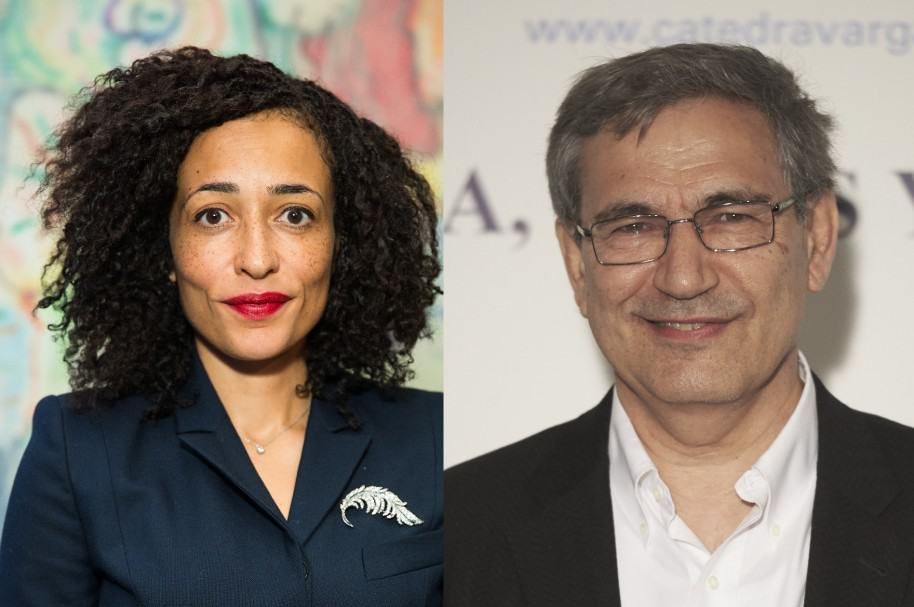 Zadie Smith y Orhan Pamuk