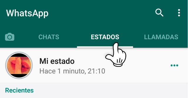 estado whatsapp android 3