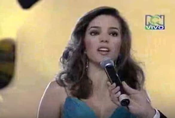 Verónica Velásquez, Señorita Antioquia 2008.