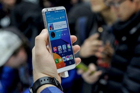 LG G6 Launch At Mobile World Congress