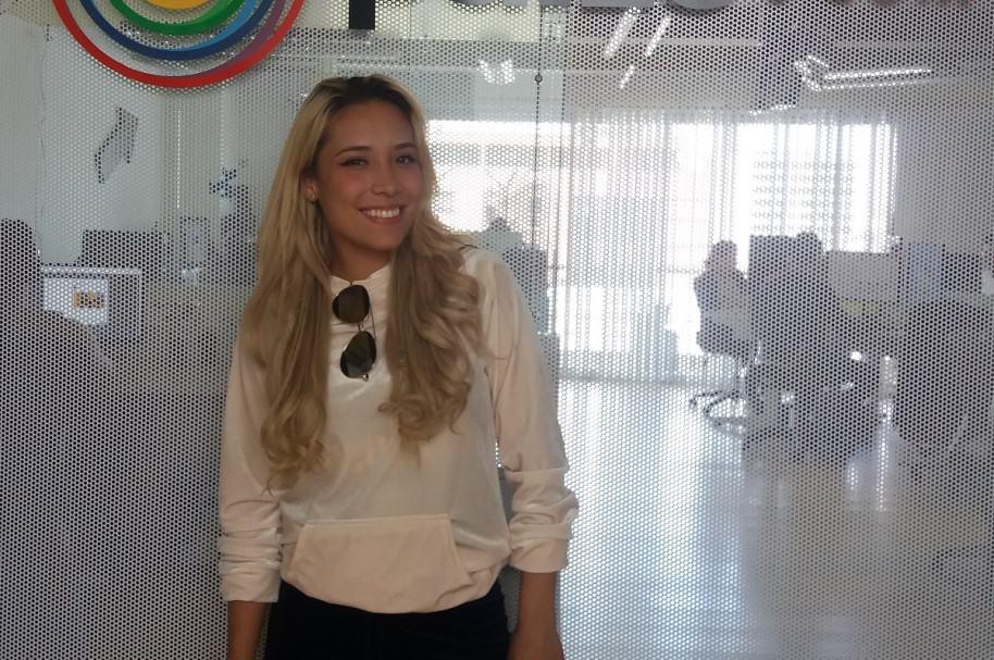Luisa Fernanda W, 'youtuber' y ahora actriz de 'Francisco, le matemático'.
