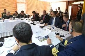 Reunión del ministro Villegas con funcionarios de Estados Unidos