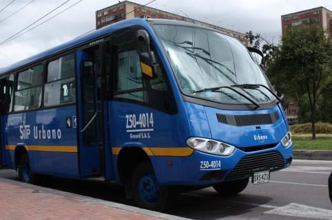 Bus del SITP, foto ilustración