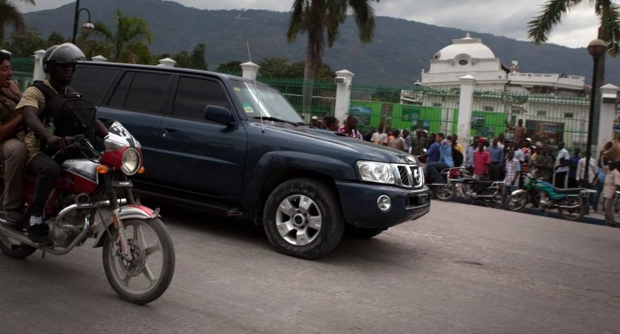 Camioneta blindada (imagen de referencia)