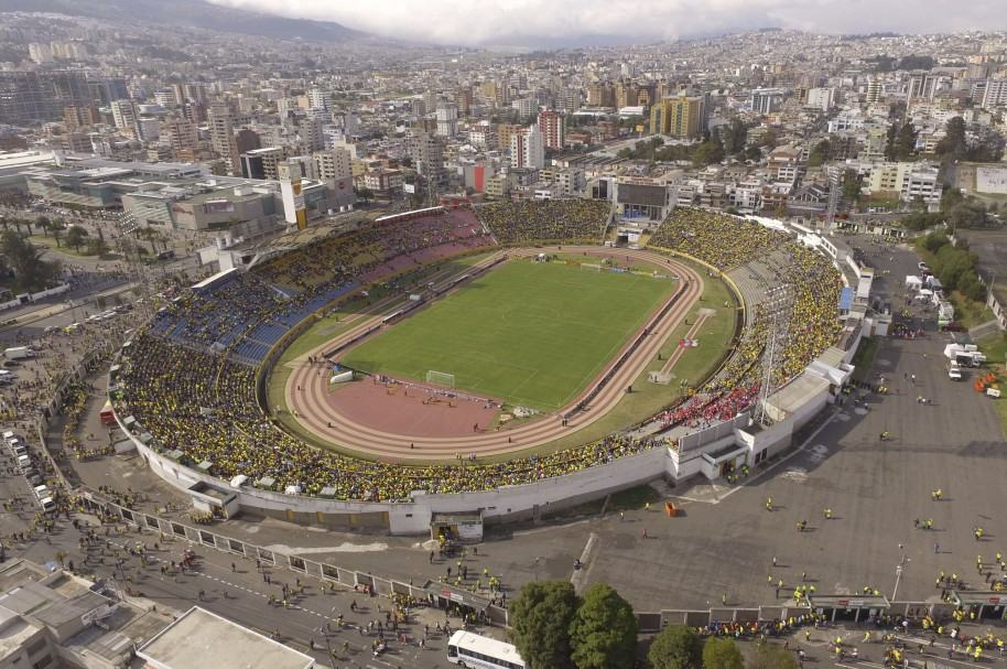 Estadio Atahualpa, de Quito