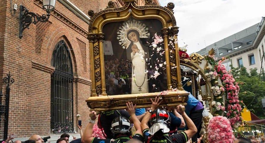 Desfile en Semana Santa.