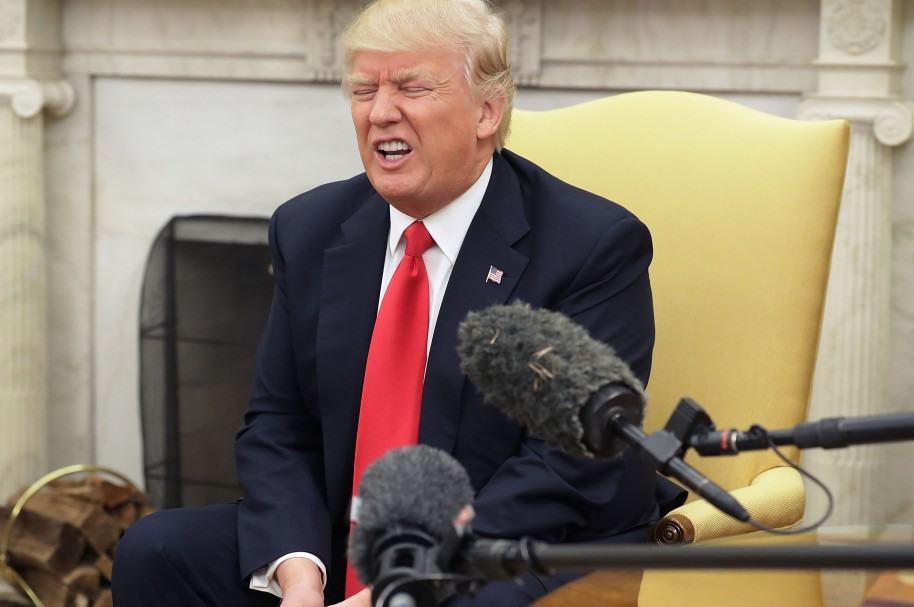 Donald Trump en la Casa Blanca