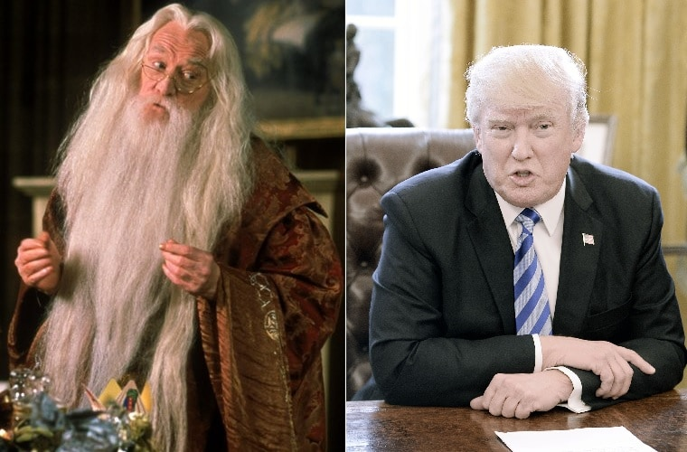 Dumbledore y Trump
