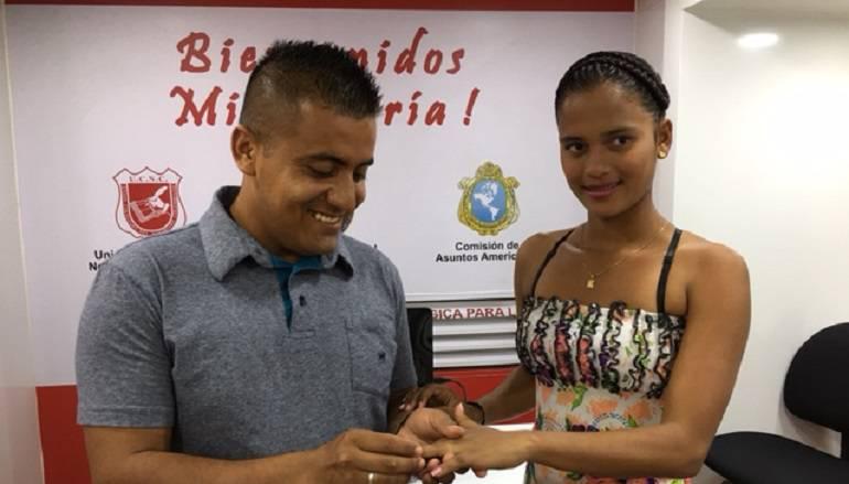 Pareja de recién casados en Mocoa