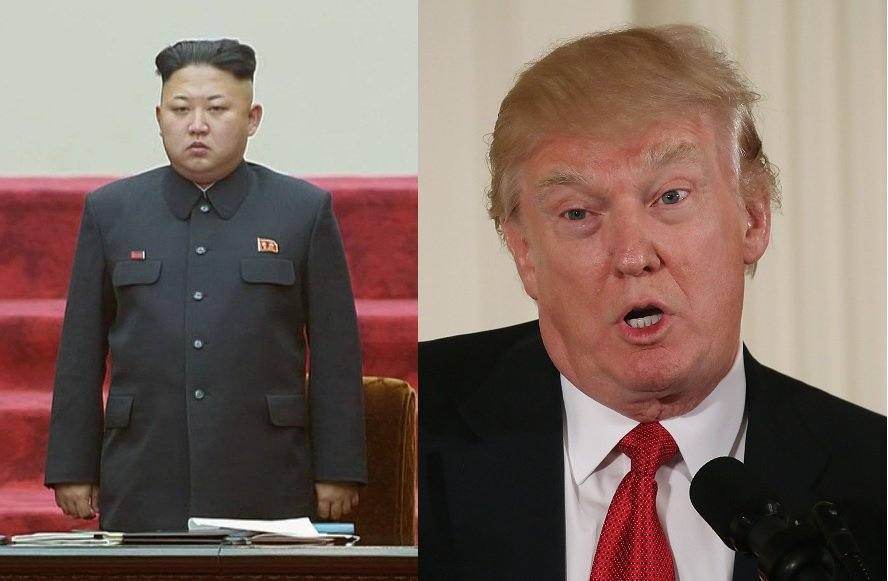 Resultado de imagen de donald trump y corea del norte