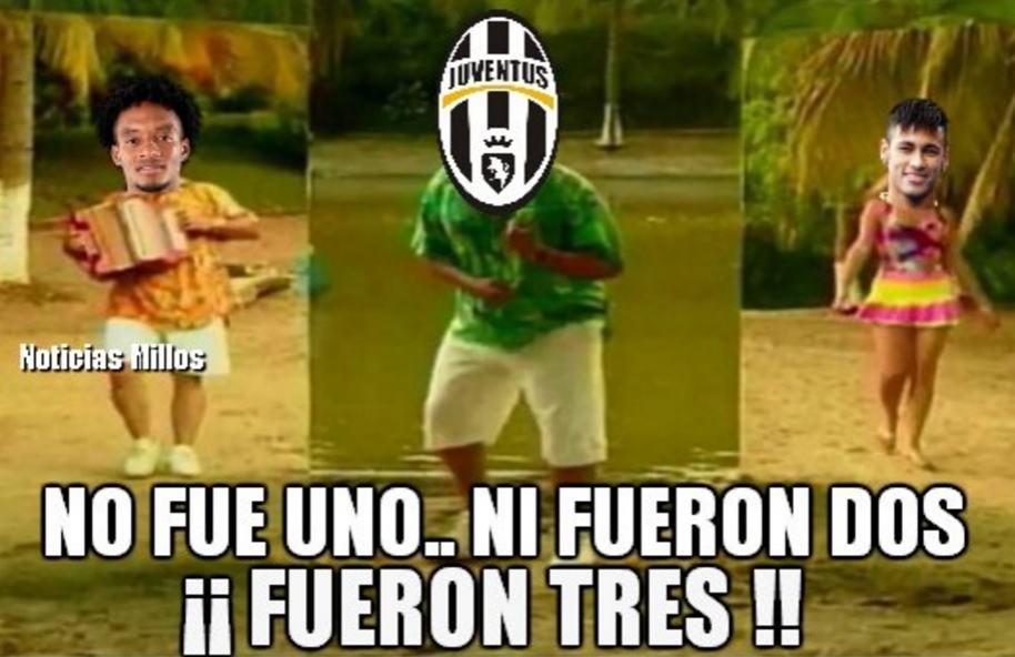 Memes de Juventus 3-0 Barza