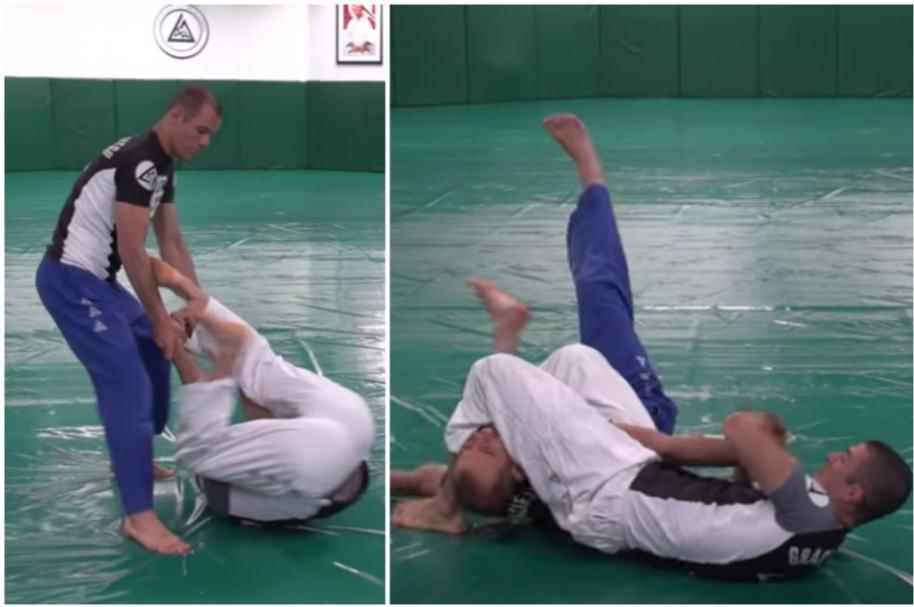 Técnicas de jiu-jitsu.