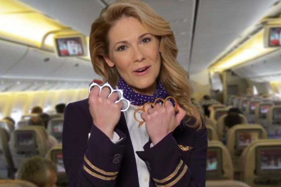Falso comercial de United Airlines.