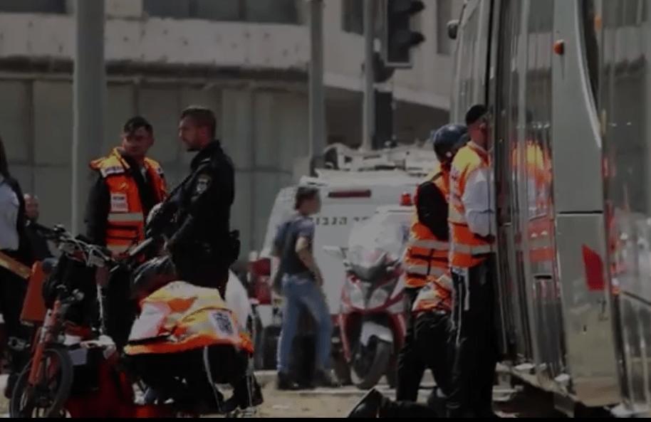 Británica atacada en tranvía de Jerusalén