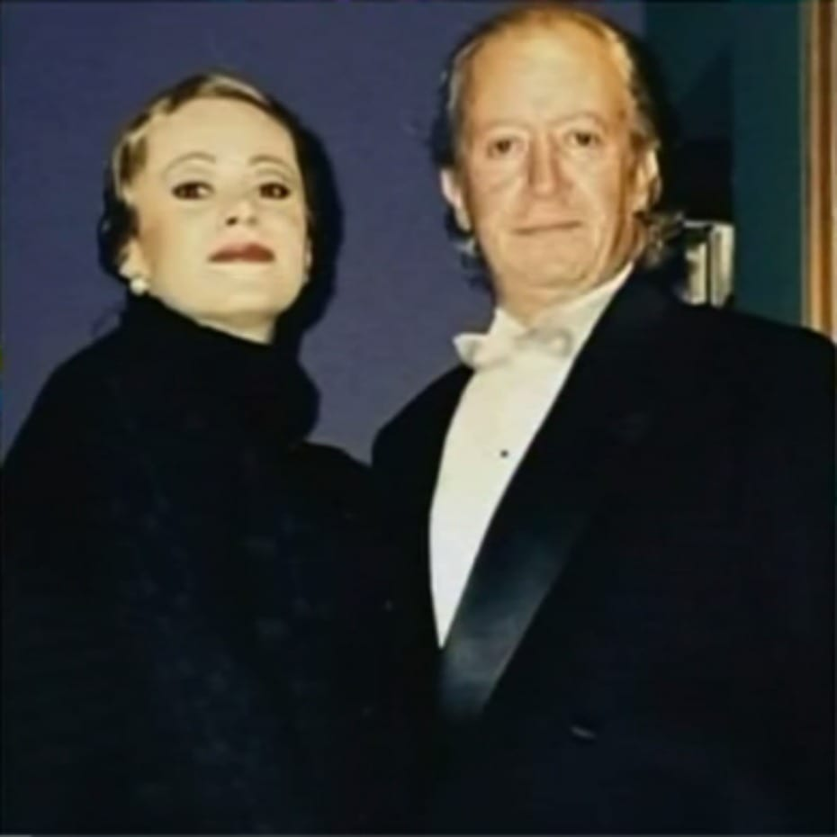 Jennifer Steffens y 'Pepe' Sánchez.