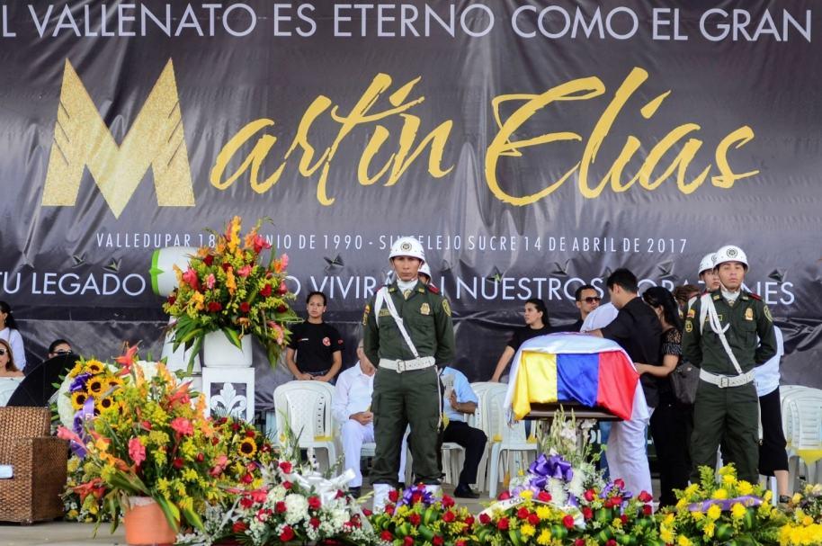 Homenaje a Martín Elías