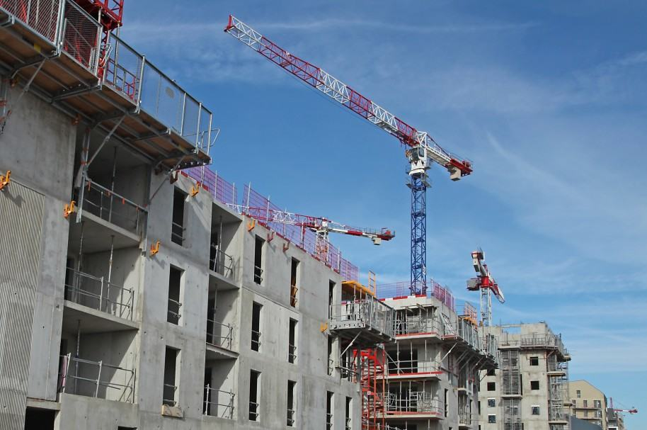 Inmeubles en construcción