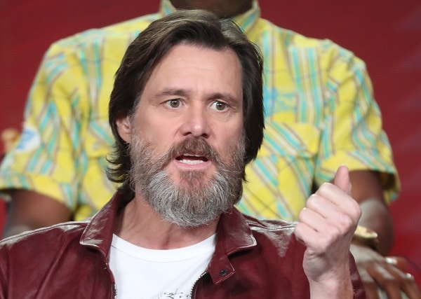Jim Carrey, actor.