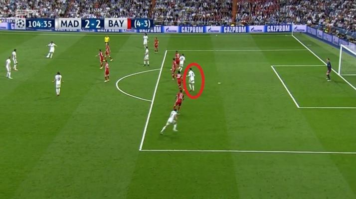 Fuera de lugar gol cristiano ronaldo frente bayern m nich for Cuando es fuera de lugar en un partido de futbol