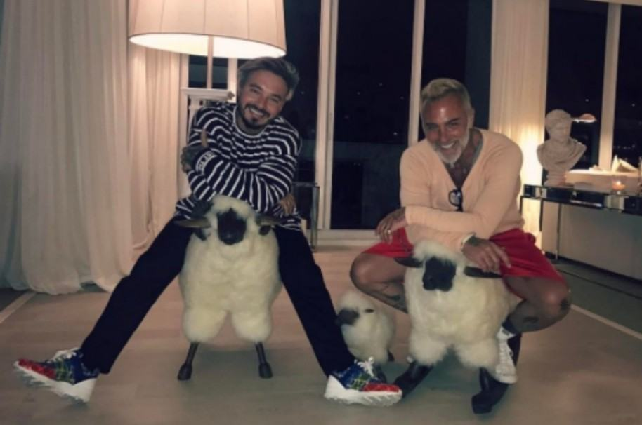 J Balvin y Gianluca Vacchi. Pulzo.com