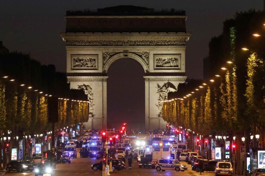 Tiroteo en París