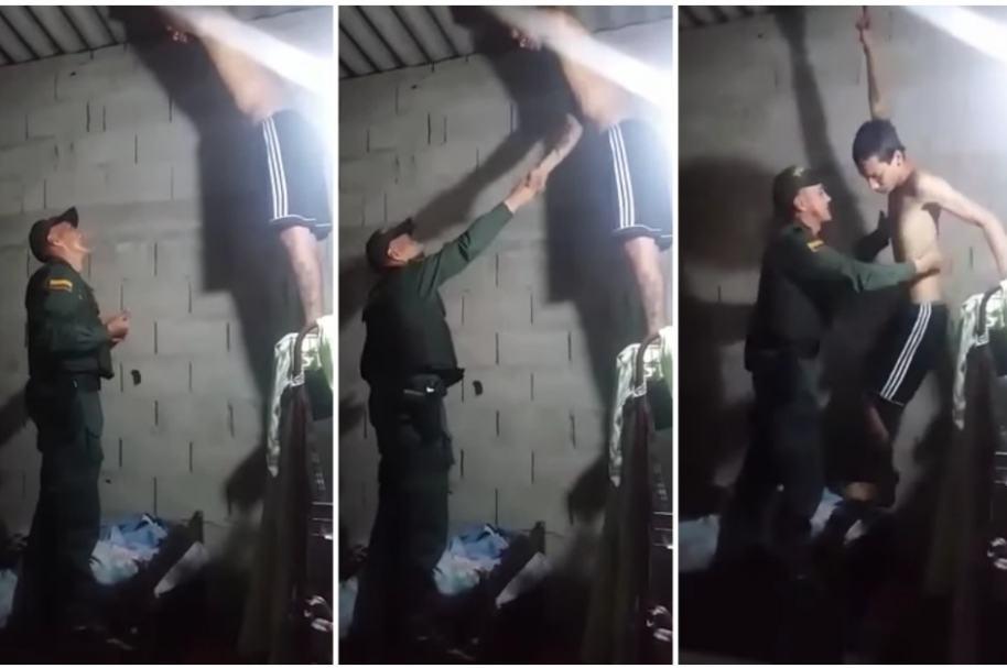 Policía evita suicidio en Ábrego, Norte de Santander.