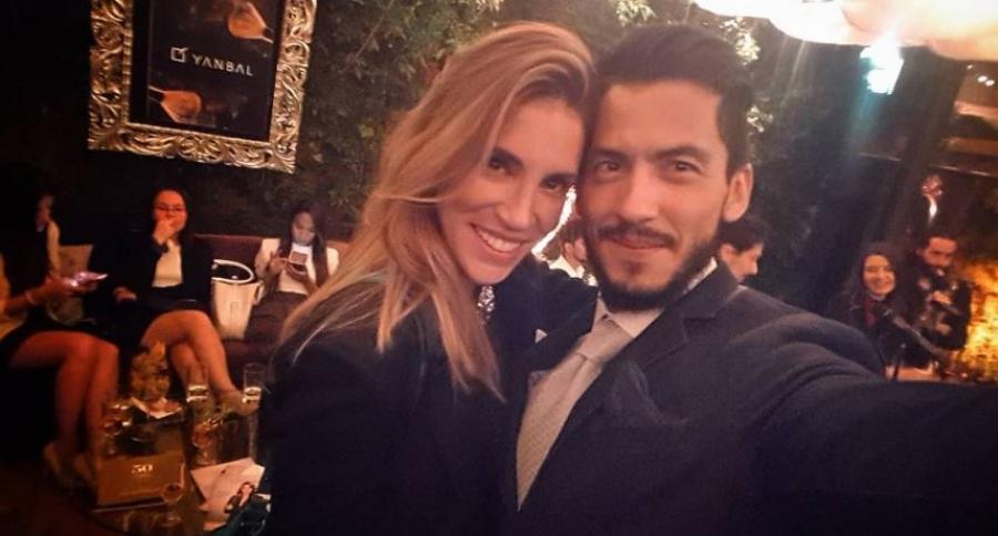 Valentina Lizcano y Rubén Baquero
