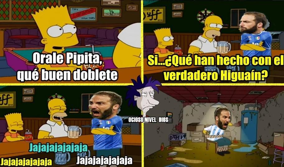 Memes de Mónaco vs. Juventus