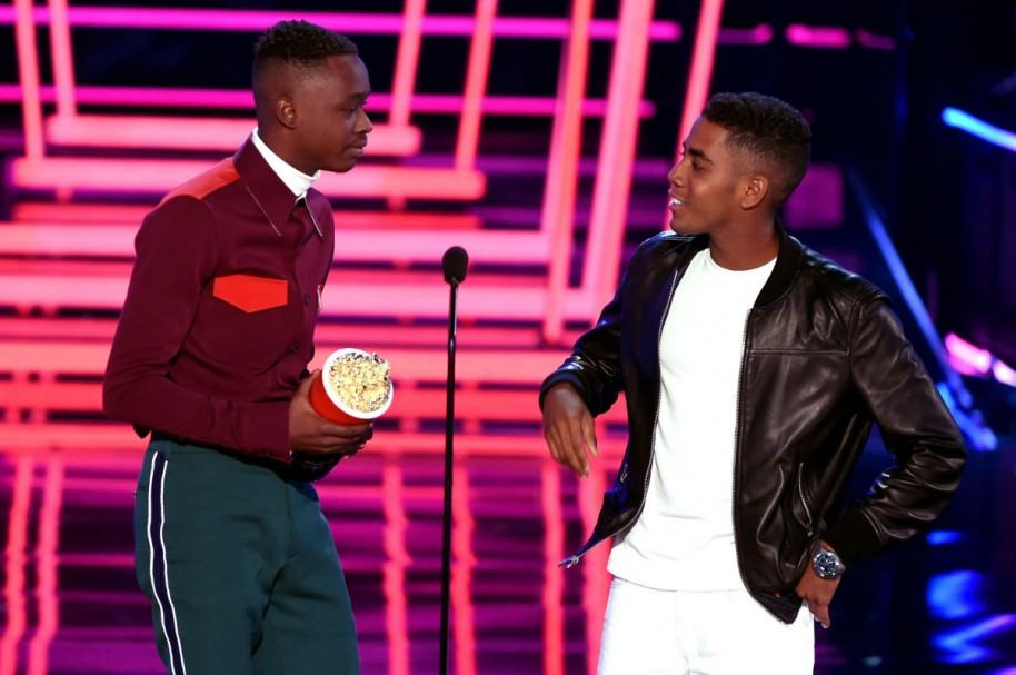Ashton Sanders y Jharrel Jerome