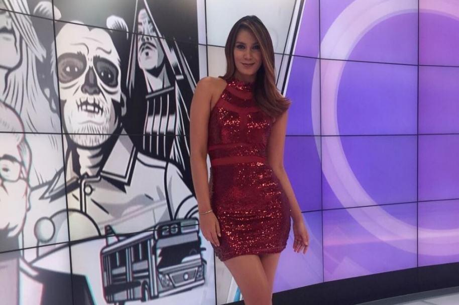 Catalina Robayo, presentadora.