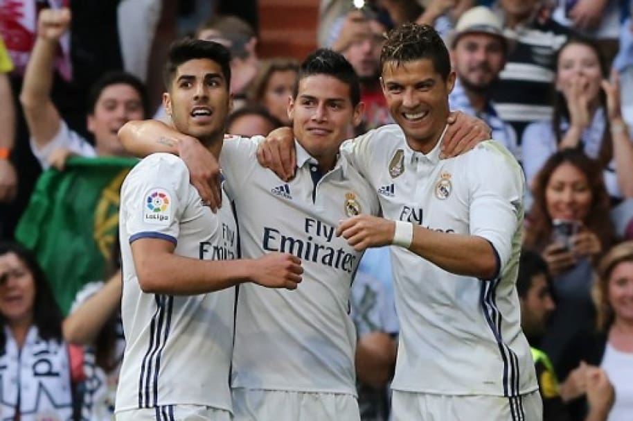 Asensio, James y Ronaldo