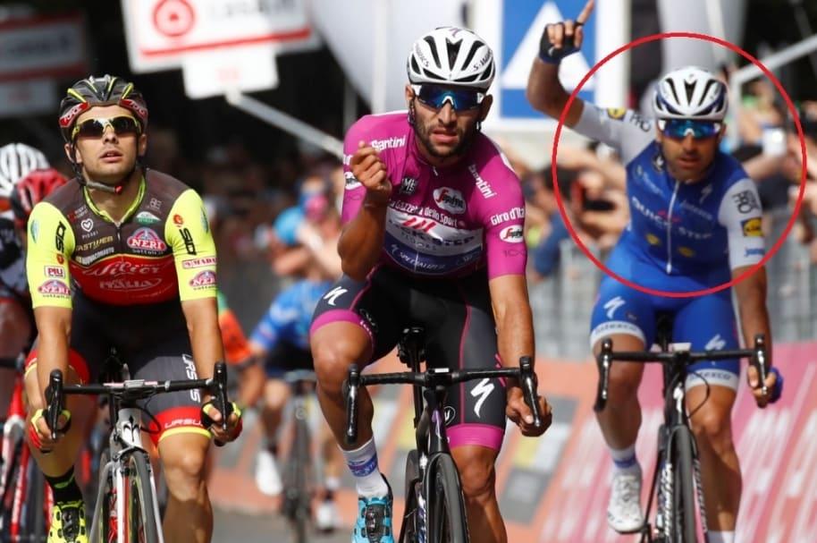 Embalaje de etapa 12 en Giro de Italia