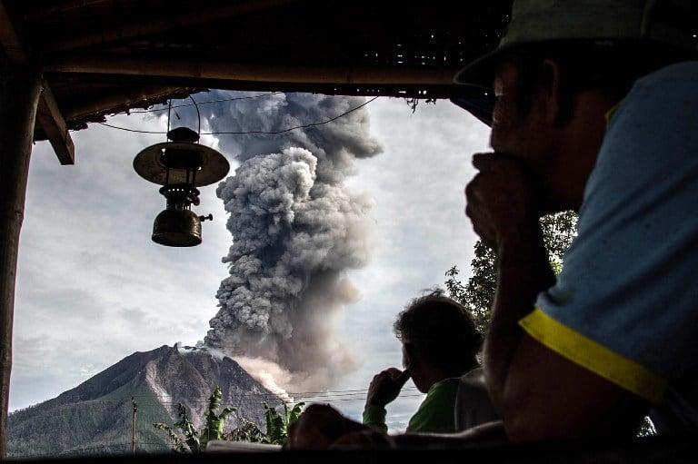 Volcán activo Sinabung. Pulzo.com