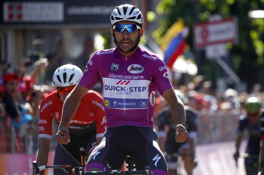 Gaviria en el Giro