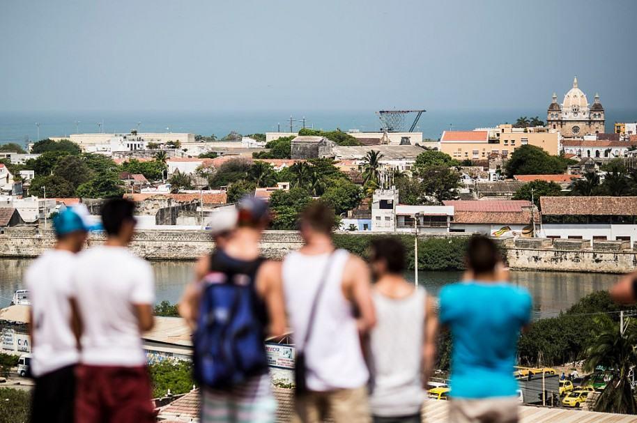 Vista de Cartagena