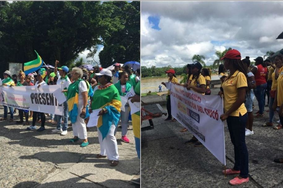 Paro cívico en Chocó