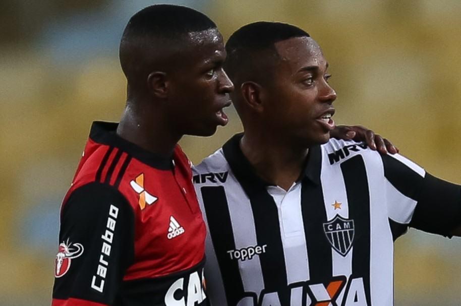 Vinicius Jr. y Robinho