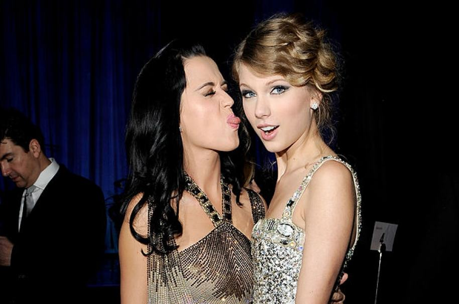 Kary Perry y Taylor Swift
