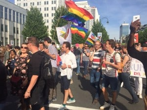 Marchas en Bruselas