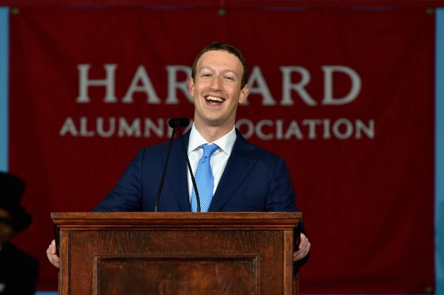 Zuckerberg en Harvard