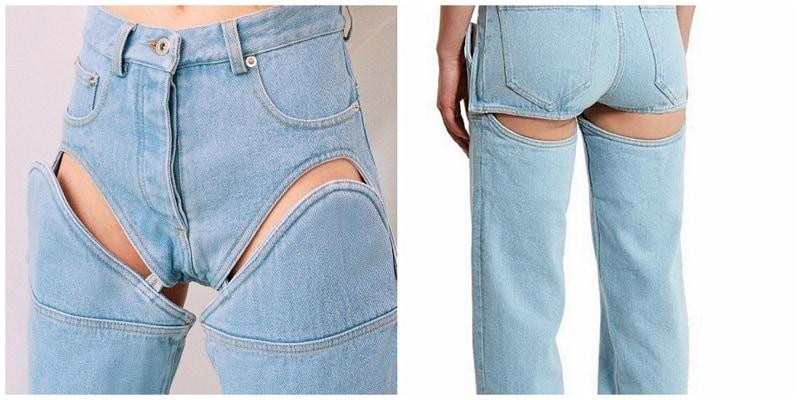 Jeans que se convierten en shorts