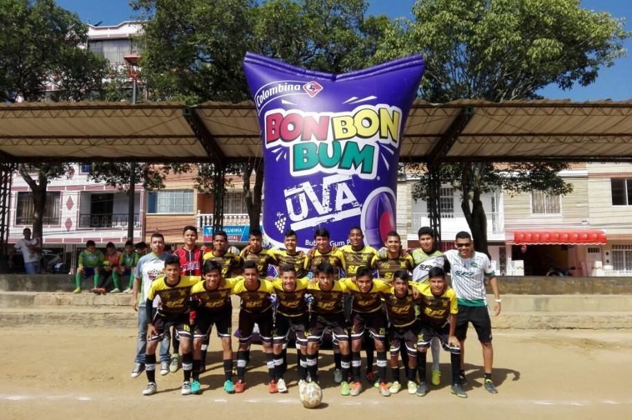 Equipo en Copa Bon Bon Bum