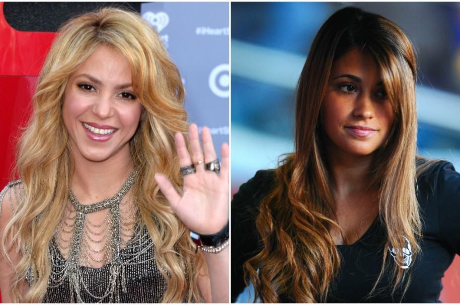 Shakira / Antonella Roccuzzo