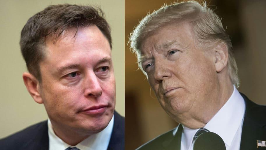 Musk y Trump